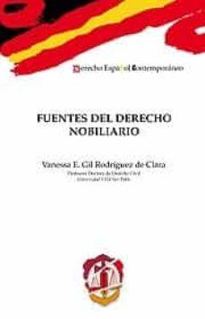 fuentes del derecho nobiliario-vanessa e. gil rodriguez de clara-9788429016697