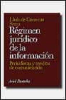 Premioinnovacionsanitaria.es Regimen Juridico De La Informacion: Periodistas Y Medios De Comun Icacion Image