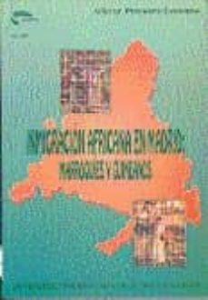 Permacultivo.es Inmigracion Africana En Madrid: Marroquies Y Guineanos (1975-1990 ) (Uned) Image