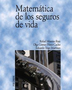 Descargar MATEMATICA DE LOS SEGUROS DE VIDA gratis pdf - leer online