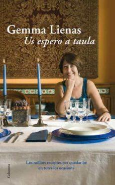 us espero a taula-gemma lienas-9788466411097