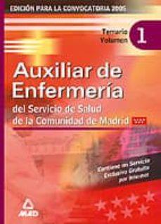 Eldeportedealbacete.es Auxiliar De Enfermeria Del Servicio De Salud De La Comunidad De M Adrid: Temario (Vol. 1) Image