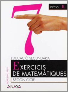Debatecd.mx Matemàtiques 4º Educacion Secundaria Exercicis De Matemàtiques 7 Illes Balears Catala Image