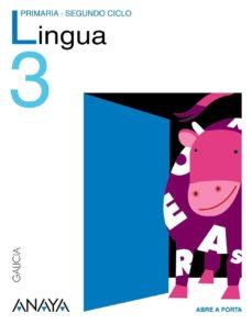 Cdaea.es Lingua Galega 3. Educación Primaria Segundo Ciclo Image
