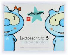 Curiouscongress.es Lectoescritura: Volteretas 5 Años Nivel 5 (Cuadricula) Image