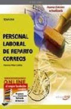 Ojpa.es Personal Laboral De Reparto. Correos. Temario (4º Ed) Image