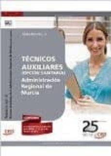 Viamistica.es Técnicos Auxiliares De La Administración Regional De Murcia (Opción Sanitaria). Temario. Vol.ii Image