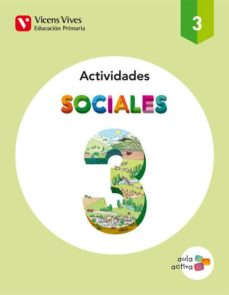 sociales 3 actividades (aula activa) tercero de primaria-9788468220697