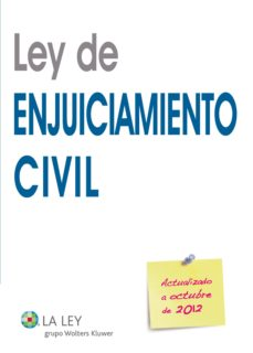 ley de enjuiciamiento civil 2012 (ebook)-9788490200797