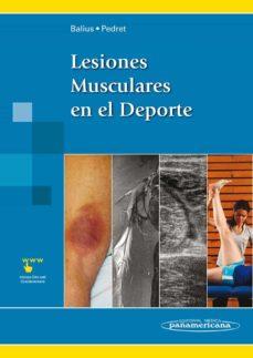 Descargar Ebook for nokia c3 gratis LESIONES MUSCULARES EN EL DEPORTE de RAMÓN BALIUS MATAS iBook CHM PDF