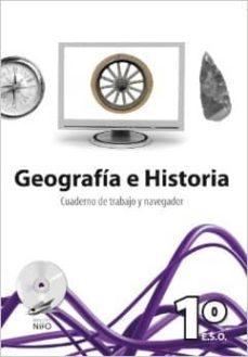 Carreracentenariometro.es Geografia E Historia, 1 Eso Cuaderno De Trabajo Y Navegador Image