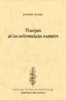 Descarga gratuita de libros de texto en francés. ORIGEN DE LAS ENFERMEDADES MENTALES  de HARE EDWUARD in Spanish