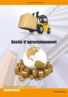 gestio d aprovisionament-maria jose escudero serrano-9788497327497