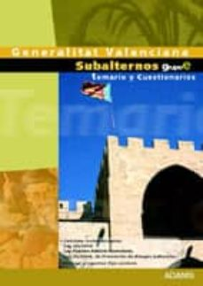 Garumclubgourmet.es Temario Y Cuestionarios Subalternos De La Generalitat Valenciana Image