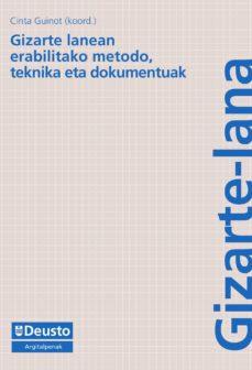 gizarte lanean erabilitako metodo, teknika eta dokumentoak (ebook)-9788498308297