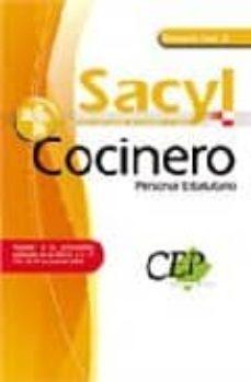 Comercioslatinos.es Temario Vol.ii. Oposiciones Cocinero Personal Estatutario Servici O De Salud De Castilla Y Leon (Sacyl) Image