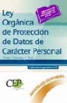 Eldeportedealbacete.es Ley Organica De Proteccion De Datos De Caracter Personal. Texto Í Ntegro Y Test. Coleccion Legislativa Cep Image