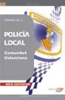 Srazceskychbohemu.cz Policia Local De La Comunitat Valenciana. Temario Vol. Ii. Image