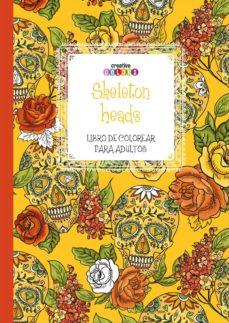 Inmaswan.es Skeleton Heads: Colorear Para Adultos Image