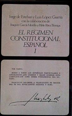 Emprende2020.es El Régimen Constitucional Español 1 Image