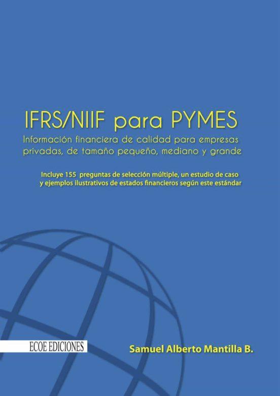 Ebook Ifrs Niif Para Pymes Ebook De Samuel Alberto Mantilla B Casa Del Libro