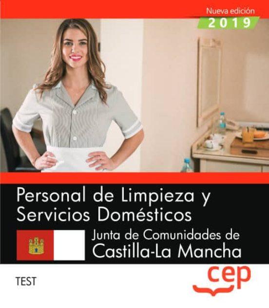 PERSONAL DE LIMPIEZA Y SERVICIOS DOMÉSTICOS. JUNTA DE COMUNIDADES DE CASTILLA-LA MANCHA. TEST