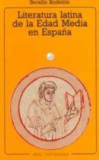 literatura latina en la edad media en españa-serafin bodelon garcia-9788476003947