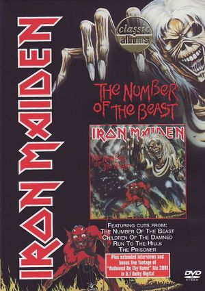 iron maiden, number of the beast (dvd)-5034504922976