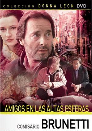 comisario brunetti: amigos en las altas esferas (dvd)-8436022288348