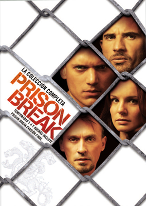 PRISON BREAK: COLECCION COMPLETA + PRISON BREAK: EVASION FINAL de ...