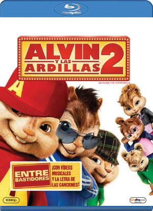 alvin y las ardillas 2 (blu-ray)-8420266949844