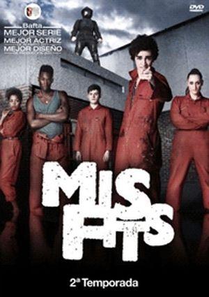 misfits: segunda temporada (dvd)-8435153709685