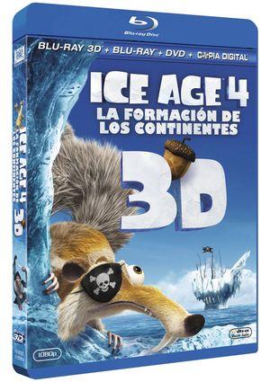 ice age 4: la formacion de los continentes (con copia digital) (s-8420266965233
