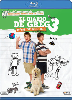 el diario de greg 3: dias de perros (blu-ray)-8420266966124