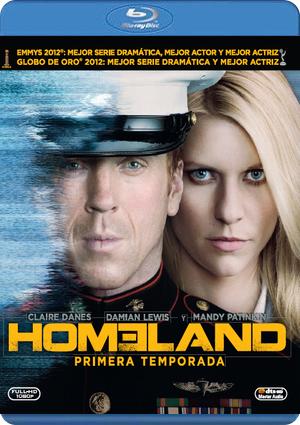 homeland: primera temporada (blu-ray)-8420266967275