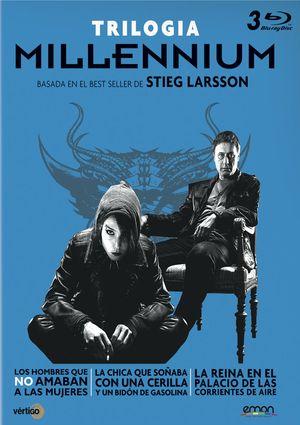 millennium. trilogia (blu-ray)+poster-8435153739972