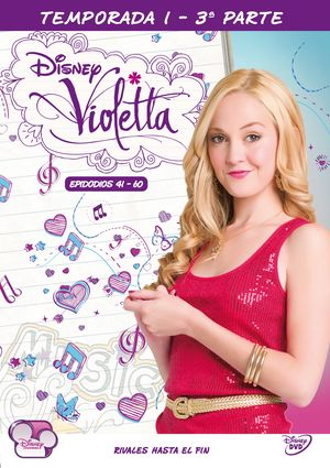 violetta. 1ª temporada - parte iii (dvd)-8421394541122