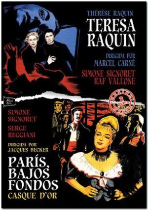 pack teresa raquin - paris, bajos fondos (dvd)-8436541007055