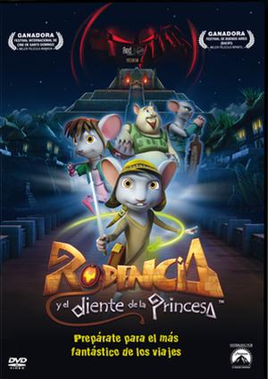rodencia y el diente de la princesa (dvd)-8414906879448