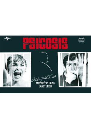 psicosis: ed.horizontal (dvd)-8414906220547