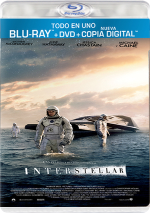 interstellar  (blu-ray+dvd)-5051893210064