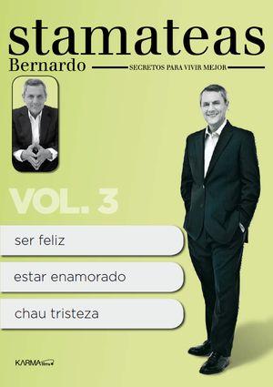 bernardo stamateas. secretos para vivir mejor vol.3 (dvd)-8437010737114