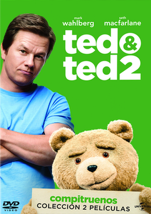 pack ted (ted + ted 2) (dvd)-8414906817372