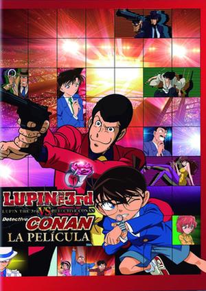 lupin vs. detective conan (dvd)-8420266976949