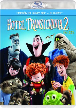Hotel Transilvania 2 Blu Ray 3d2d