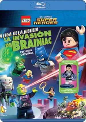 liga de la justicia:la invasion de brainiac: ed.especial(blu-ray)-5051893227482