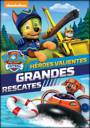 paw patrol: heroes valientes, grandes rescates (dvd)-8414533093859