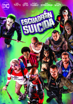 poster de la pelicula escuadron suicida