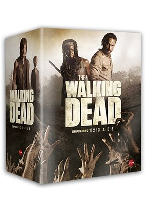 pack the walking dead: 6 temporadas (dvd)-8436564161352
