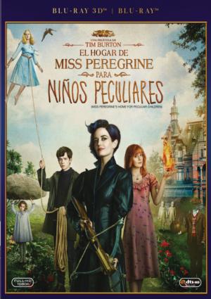 el hogar de miss peregrine para niños peculiares (blu-ray 3d)-8420266005557